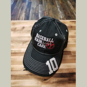 #Baseball Hair Don't Care Cap