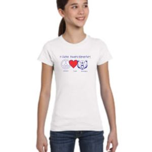 H Clarke Powers Peace Love Shirt Thumbnail