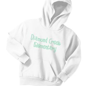 Diamond Creek Rhinestone Hoodie Of Photo Font Thumbnail