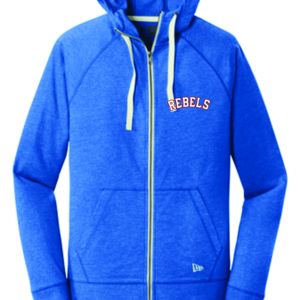 Ladies/Men's Rebels New Era® Sueded Cotton Blend Full-Zip Hoodie Thumbnail